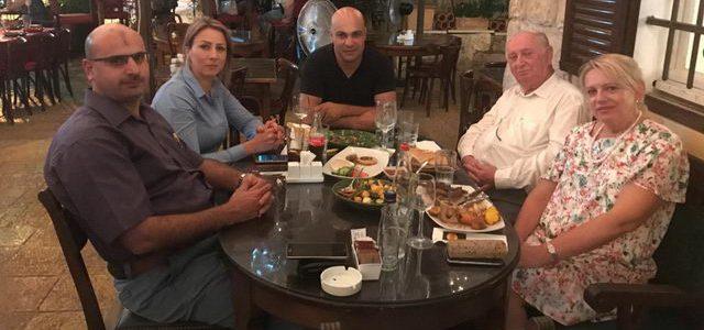 ביקור בחיפה של פרופסור כרמן קרצו