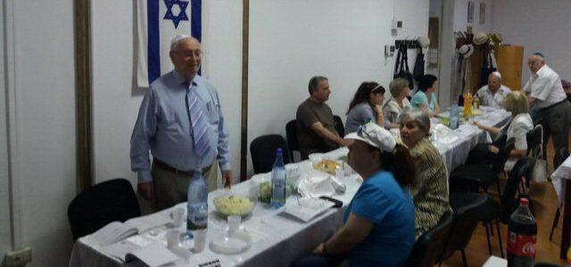 מפגש מרגש בקהילה היהודית בטימשווארה