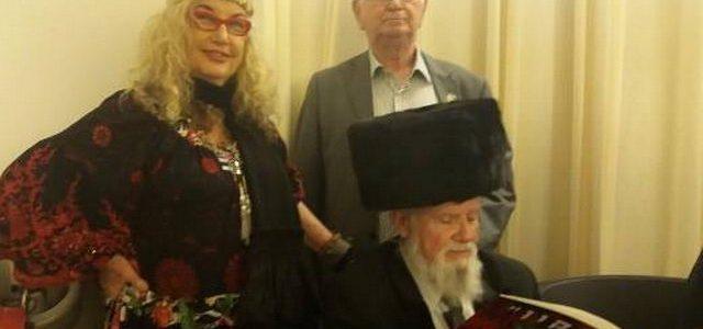מפגש עם הרב יוסי הראל, ראש עיריית יאשי וראש עיריית חיפה